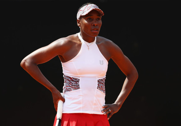 Wang Topples Venus in French Open Opener