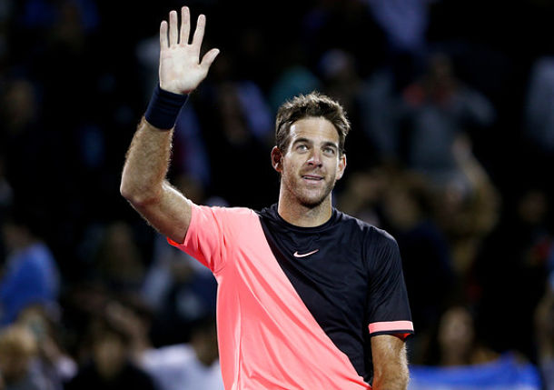 Del Potro Edges Raonic for 15th Consecutive Win