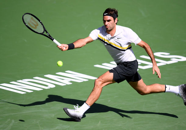 Federer Polishes off Chardy in Straights
