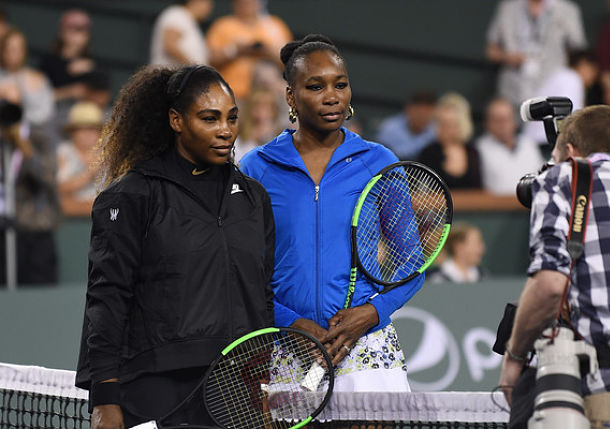 Venus Williams Defeats Sister Serena at Indian Wells