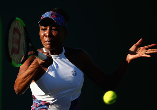 Venus Williams Dances into Third Round at Miami