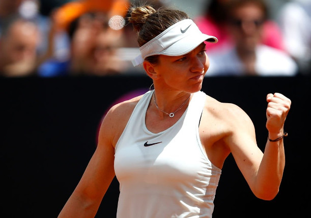 Gritty Halep Subdues Sharapova, Rallies Into Rome Final