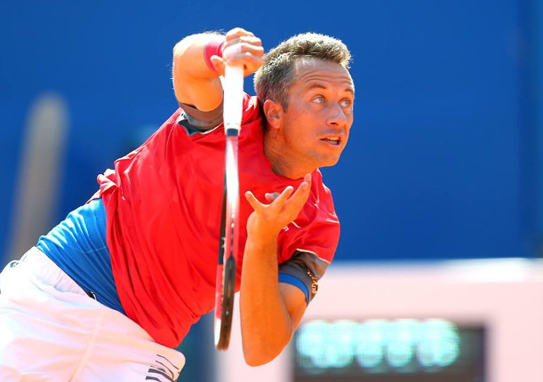 Kohlschreiber Saves Six Match Points in Stockholm Thriller
