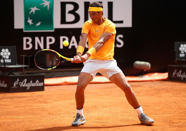 Nadal Fights Off Fognini Into Rome Semifinals