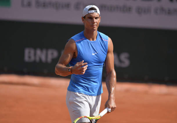 Watch: Nadal Duels With Young Fans