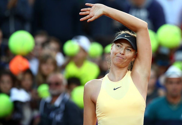 Sharapova Edges Ostapenko In Rome Thriller