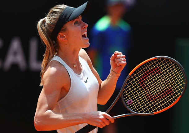 Svitolina Humbles Halep, Repeats As Rome Ruler