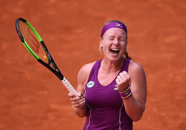 Bertens Ends Sharapova's Run at Madrid