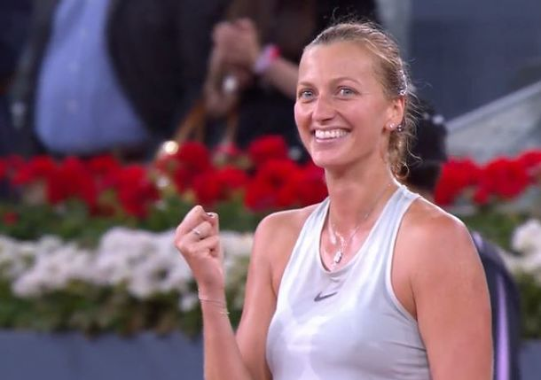 Gritty Kvitova is a Three-Time Madrid Champion