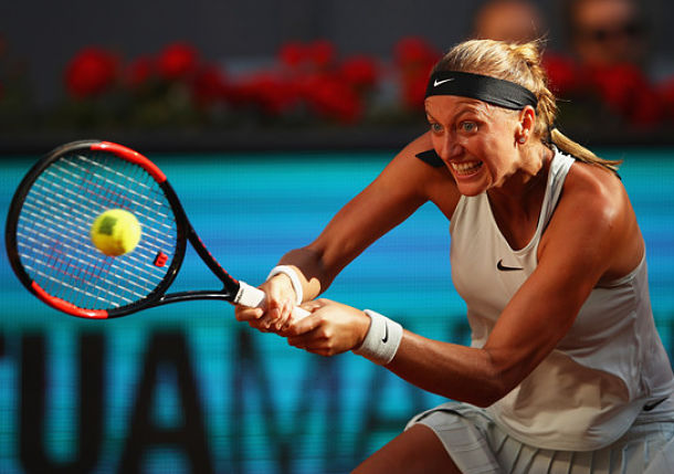 Kvitova Makes it 10 Straight, Sets Madrid Final with Bertens