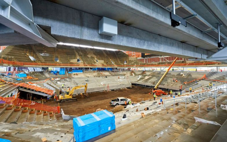 New Louis Armstrong Stadium Nears Completion at U.S. Open Site