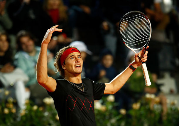 Zverev Notches 13th Consecutive Win, Sets Nadal Clash in Rome