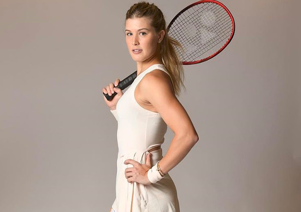 Bouchard Joins Tennis Channel During Shoulder Rehab