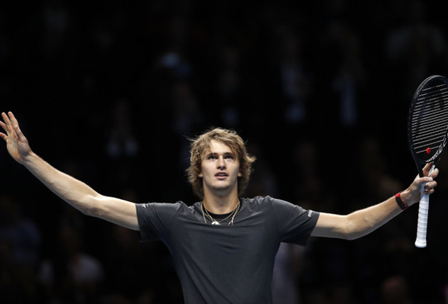 Zverev Powers Past Federer Into First London Final