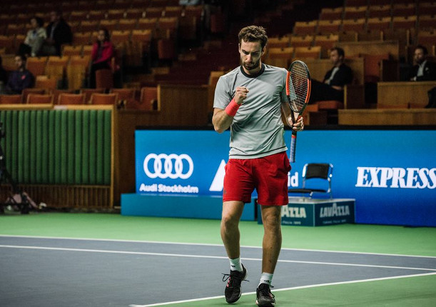 Gulbis Fights Into First Semifinal Since 2015