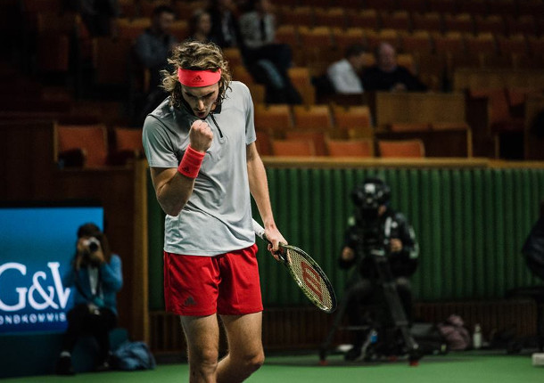 Tsitsipas Soars To Historic First Title in Stockholm