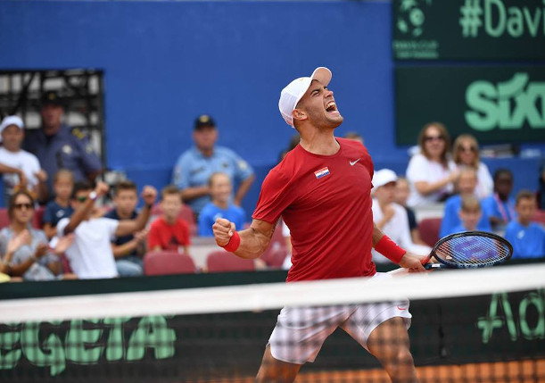 Coric Tops Tiafoe, Clinching Croatia's Davis Cup Final Return