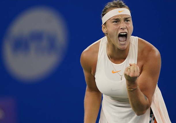 """At 2021 US Open, Sabalenka is """"Psyched"""" to Take the Next Step"""