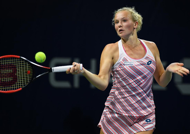 Siniakova Edges Defending Champ Garcia in Wuhan