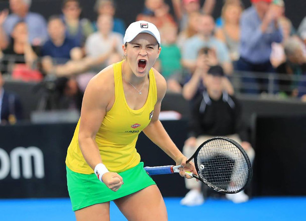 Barty Leads Australia To Fed Cup Final