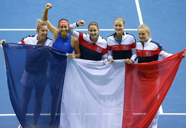 Mladenovic vs. Tomljanovic in Fed Cup Final Opener