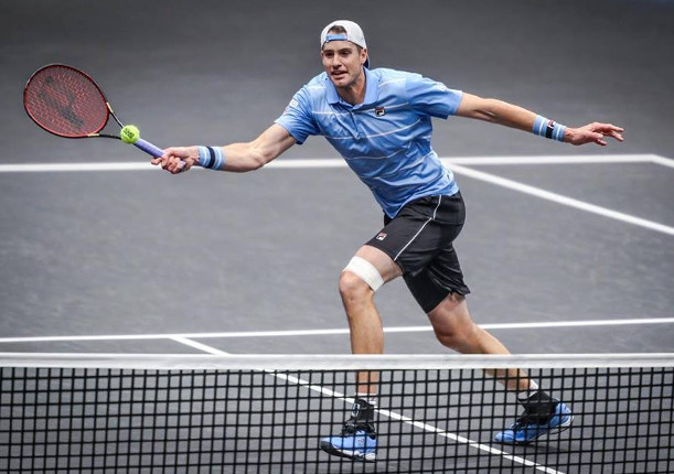 Imposing Isner Set For Opelka Rematch in New York