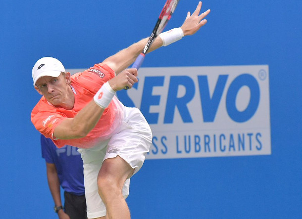 Anderson Tops Karlovic in Tallest ATP Final