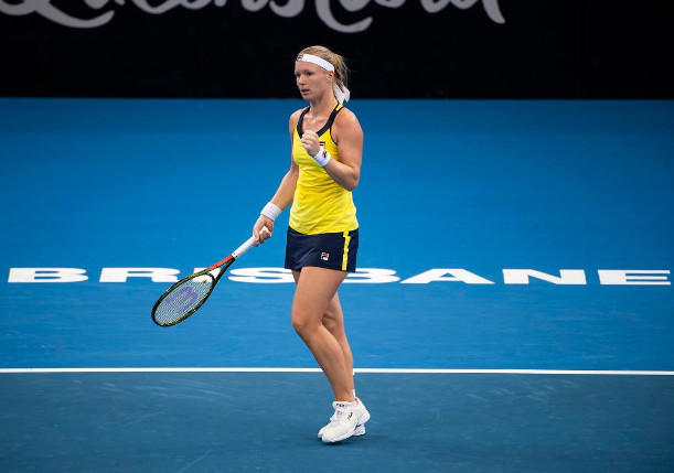 Bertens Signs With Fila