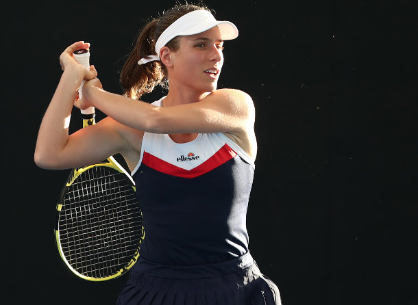 Konta Out of Olympics After Positive Coronavirus Test