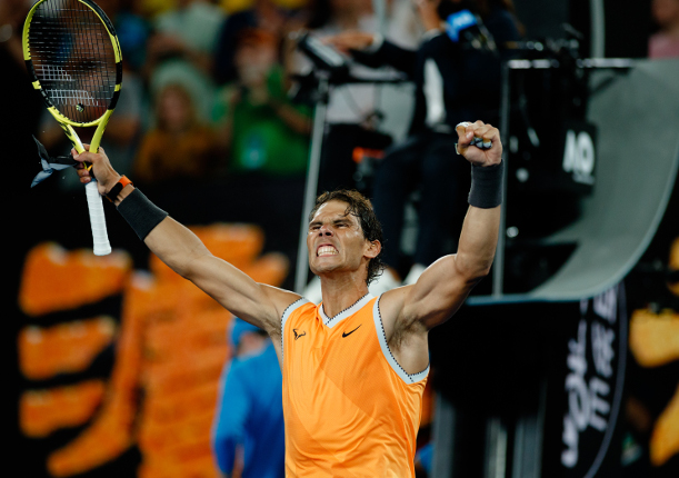 Ruthless Nadal Rolls Into 30th Grand Slam Semifinal
