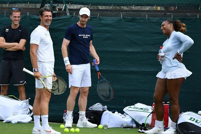 What does Serena Love about Andy Murray? His Grit!