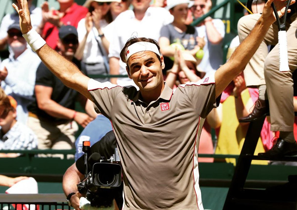 Halle Mark: Federer Flies to 10th Halle Title