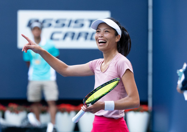 Halep: Hsieh Plays Covert Game