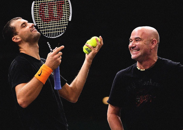 Dimitrov on Working with Stepanek and Agassi