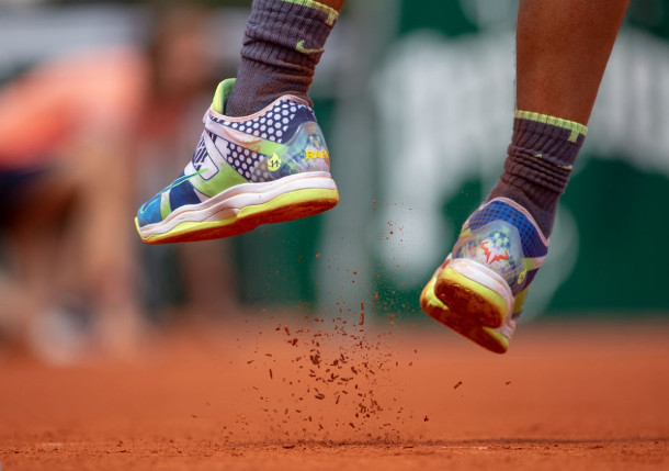 Nadal Sports Special Nikes To Celebrate Rg