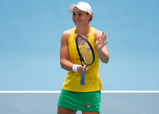 Barty Bagels Garcia, Levels Fed Cup Final for Australia