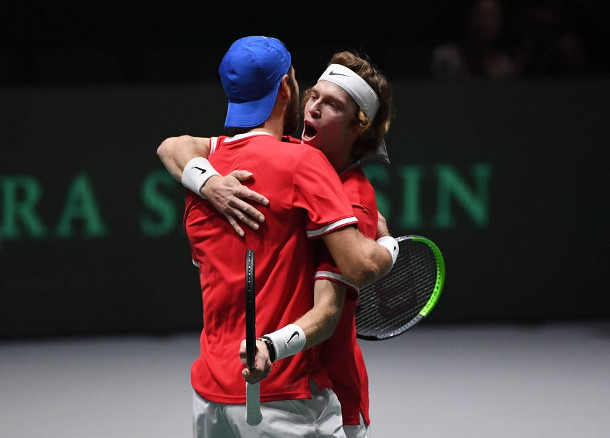 Khachanov, Rublev Lift Russia into Davis Cup Semifinals