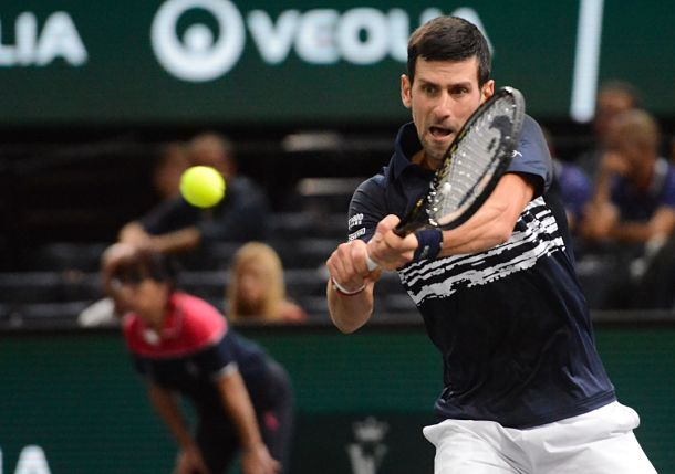 Djokovic Wins Serbian Showdown in Vienna Return