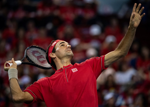Federer Fights Off Goffin, Into Shanghai Quarterfinals
