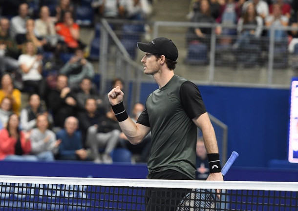Murray Battles Into First Final in Two Years in Antwerp