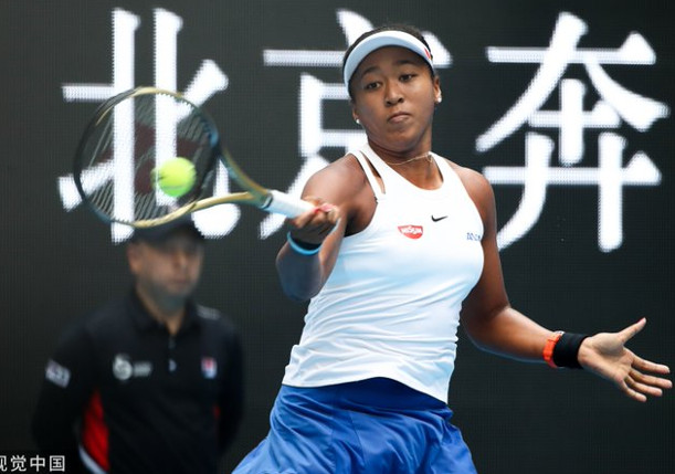 Osaka Bursts Into Beijing Final vs. Barty