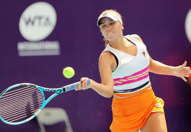 Kenin Wins All-American Clash in Zhuhai
