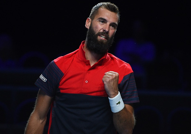 Report: Paire Tests Positive For Coronavirus, Out of Open