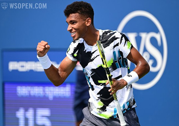 Auger-Aliassime Channels Agassi in Return