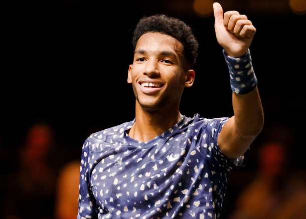 Auger-Aliassime Into First Hard Court Final in Rotterdam