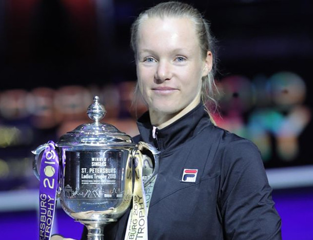 Bertens Rolls Rybakina to Defend St. Petersburg Title