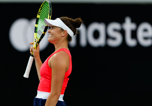 Brady Tops Muguruza to Reach Dubai Semifinals