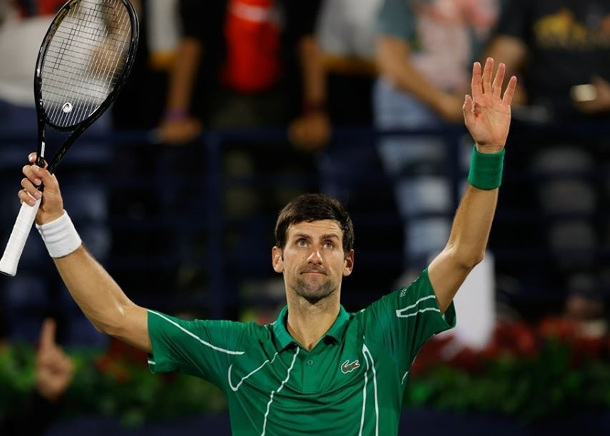 Sweet 16! Djokovic Remains Perfect in Dubai