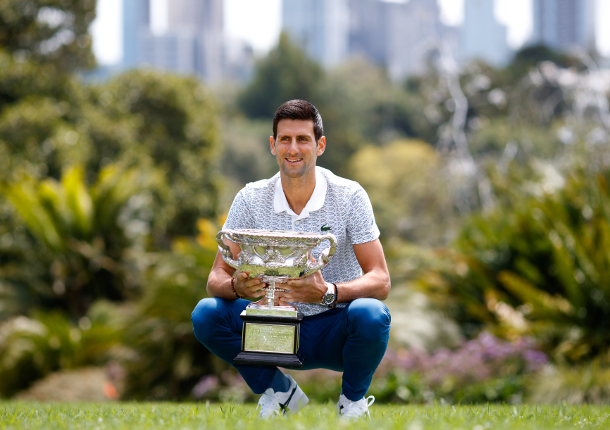 Relieved Djokovic Ready for Next Challenge