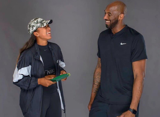 Watch: When Naomi Osaka Hit with Kobe Bryant